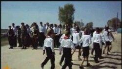 Татар авылында Җиңү парады