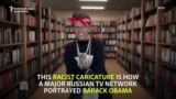 Russian TV Broadcasts Racist Obama Sketch With Actress In Blackface