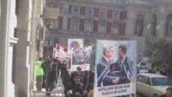 Iran səfirliyinin qarşısında aksiya