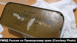 Боеприпасы, украденные в одной воинских частей Уссурийска