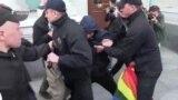 ხარკოვში მოხდა დაპირისპირება ჰომოფობიისა და ტრანსფობიის წინააღმდეგ მიმართულ აქციაზე