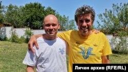 Стоян Фълджийски и Георги Петров. Снимка личен архив