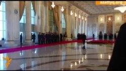 Встреча Назарбаева и Путина в Астане
