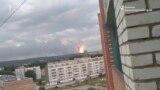 Взрывы на военном складе в Красноярском крае глазами очевидца