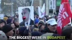 """Proteste în Ungaria împotriva """"Legii sclaviei"""""""