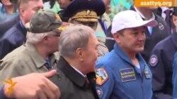 Айымбетовті әуежайда Назарбаев қарсы алды
