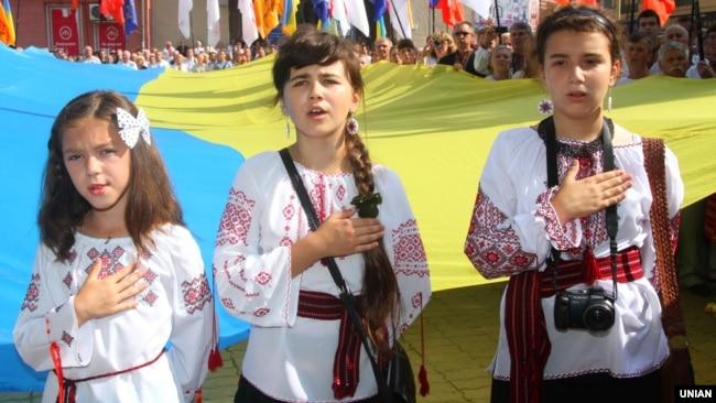 Відзначення Дня Незалежності України в Івано-Франківську, 24 серпня 2012 року