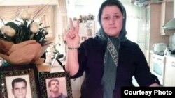 لادن مصطفایی، همسر علی حسنپور