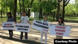 rally in Krasnodar