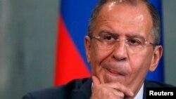 Рускиот министер за надворешни работи, Сергеј Лавров.