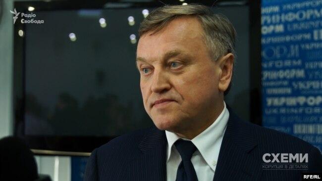 Голова Держкомтелерадіо Олег Наливайко