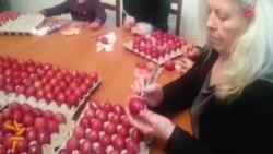 أخبار مصوّرة 18/04/2014: من تجمع الوحدة في أوكرانيا إلى وحة من بيض عيد الفصح في البوسنة