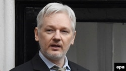 Основатель сайта WikiLeaks Джулиан Ассанж.
