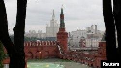 Kremlinul de la Moscova - curte interioară