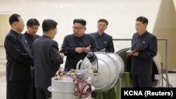 کره شمالی پیشتر از آزمایش یک بمب هیدروژنی خبر داده بود که به ادعای پیونگیانگ قویترین بمب اتمی آزمایش شده توسط این کشور است.