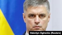 Ukrainian Foreign Minister Vadym Prystayko (file photo)