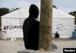 Лагерь временного содержания мигрантов в Кале (Франция)