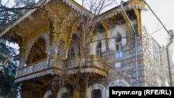 Резной балкон музея Леси Украинки