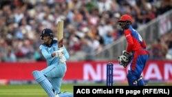 بازی میان تیمهای ملی کریکت افغانستان و انگلند