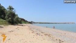 Западный берег Крыма пустует в разгар курортного сезона (видео)