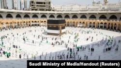 مراسم حج در عربستان سعودی