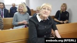 Ганна Бахціна (у цэнтры)