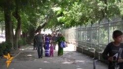 Children At Work In Tajikistan
