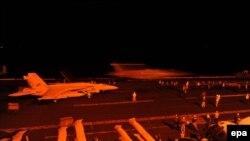 هواپیماهای آمریکا به مواضع گروه «خراسان» حمله کردند