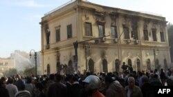 من إحتجاجات العام الماضي في مصر