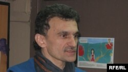 Journalist Syarhey Sys was one of those arrested.