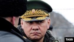 Россия мудофаа вазири Сергей Шойгу.