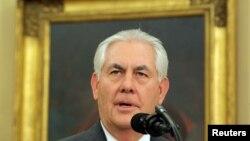 Noul secretar de stat american Rex Tillerson