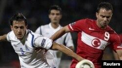 Avro-2012-nin seçmə mərhələsində qrup oyunları. Azərbaycan Türkiyə oyunu