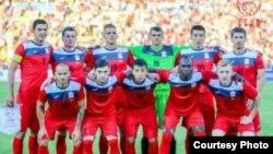 Сборная Кыргызстана по футболу.