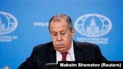 Sergei Lavrov mətbuat konfransında