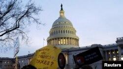 Акція проти податкової реформи у Вашингтоні, 30 листопада 2017 року