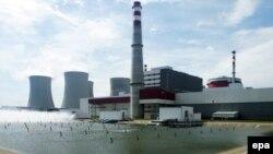 Чехиядағы Темелин атом электр станциясы.