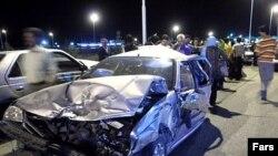 سوانح رانندگی مهم ترین عامل مرگ و میر ایرانی ها است.
