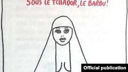 Caricatură de Wolinski (Charlie Hebdo).