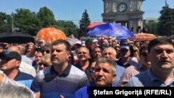 Moldovoda etiraz aksiyası, 9 iyun, 2019