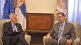 Kyle Scott i Aleksandar Vučić, fotoarhiv