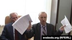 Віктар Гарбачоў (з правага боку)