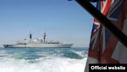 وزارت دفاع بریتانیا همچنین اعلام کرده که نیروهای بریتانیایی در آب های عراق و در شط العرب به گشت زدن مشغول بوده اند.