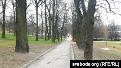 Так цяпер выглядае парк былой сядзібы Станіславова