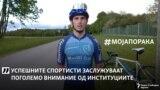 По шест години со велосипед, стана првак во цикло крос