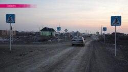 В Кызылорде (Казахстан) построили дорогу без асфальта