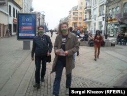 Акция ЛГБТ-активистов в Самаре