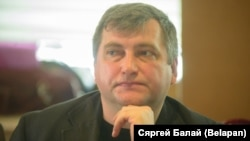 Andrey Bastunets, chairman of the Belarusian Association of Journalists (file photo)