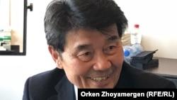 Акежан Кажегельдин, бывший премьер-министр Казахстана, живущий с 1999 года за рубежом.