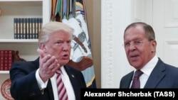 Встреча Дональда Трампа с Сергеем Лавровым в Белом доме. 10 мая 2017 года